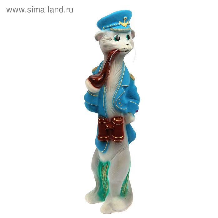 "Копилка ""Кот-капитан"" флок"