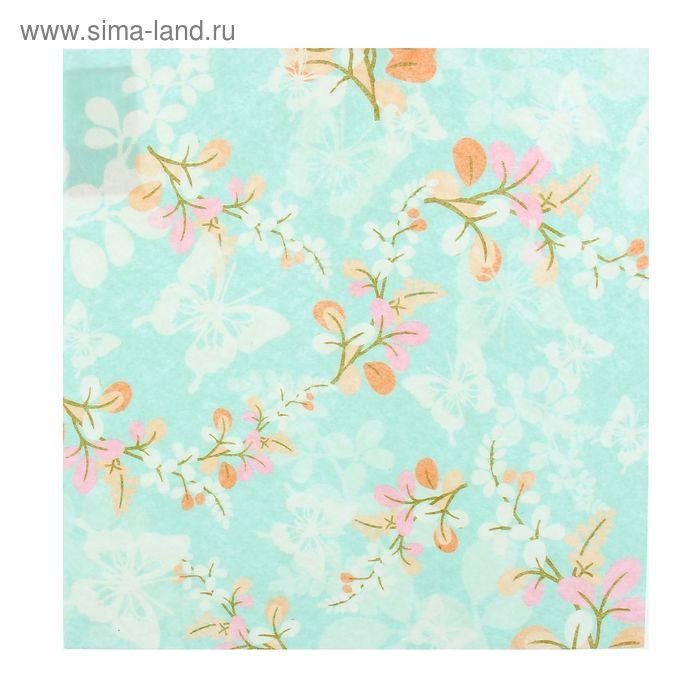 """Войлочное полотно с рисунком """"Японские бабочки"""""""