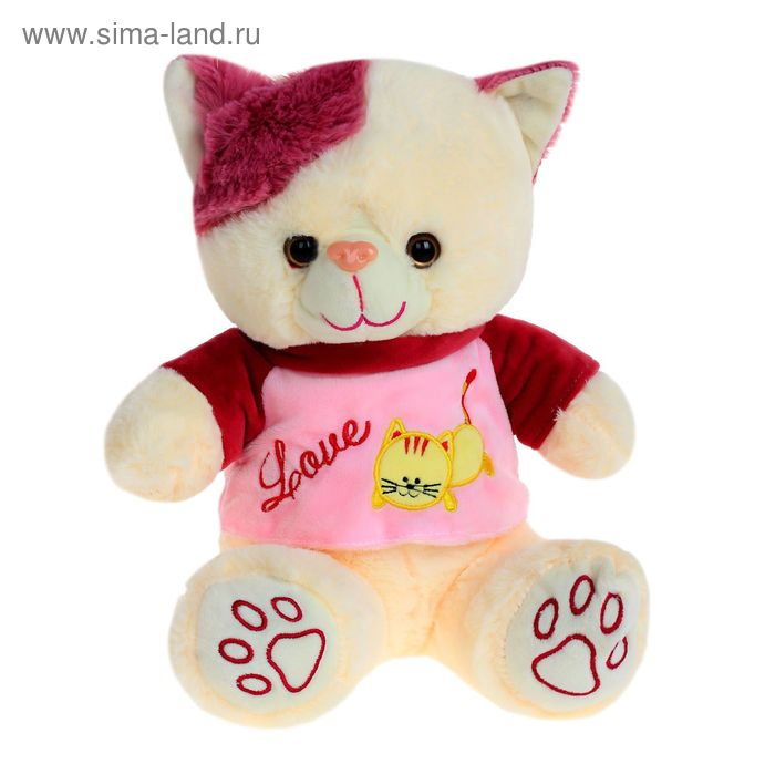 Мягкая игрушка «Кошка в кофте № 2», цвета МИКС