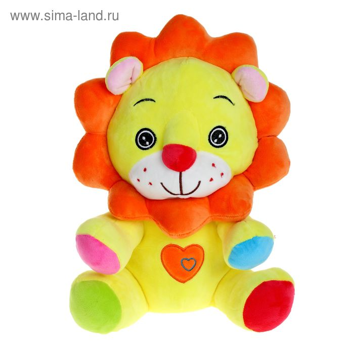 Мягкая игрушка «Лев», цвета МИКС
