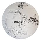 Мяч волейбольный V5-23, 18 панелей, PVC, 2 подслоя, машинная сшивка, размер 5