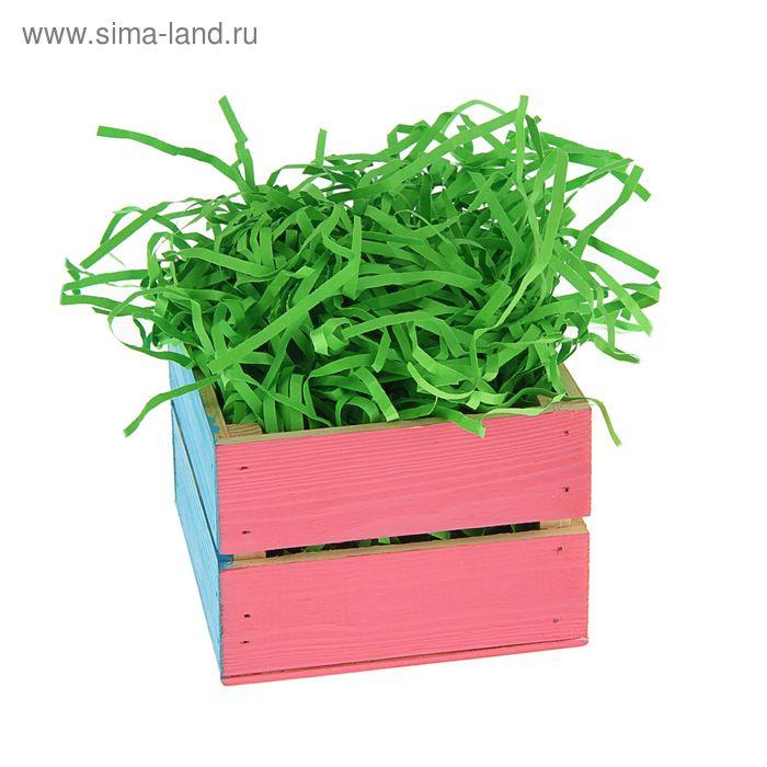 Наполнитель бумажный зеленое яблоко, 500 гр