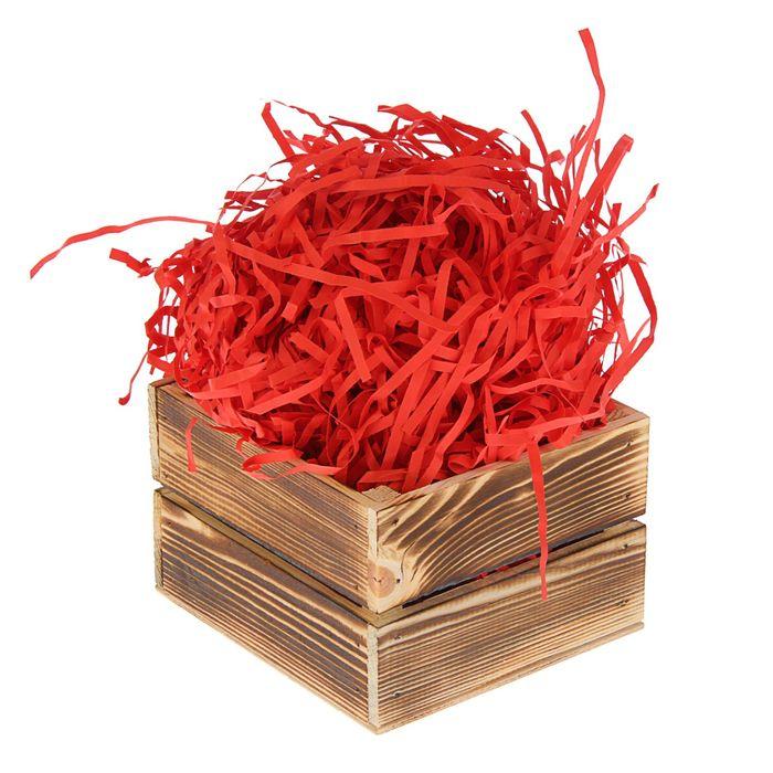 Наполнитель бумажный красно-кирпичный, 50 г