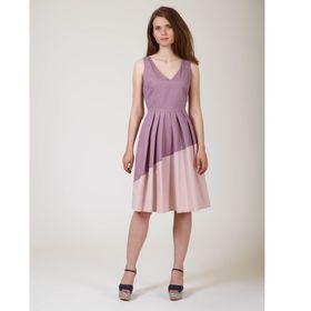 Платье женское Y6613-0140, цвет сливовый, размер42/170