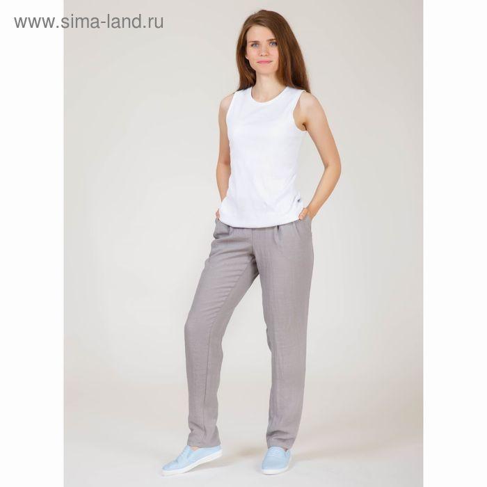 Брюки женские Y6831-0132, цвет серый, размер46/170