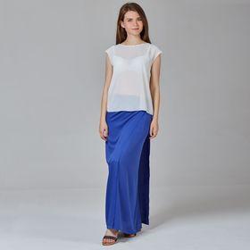 Юбка женская Y1337-0142, цвет синий, размер44/170