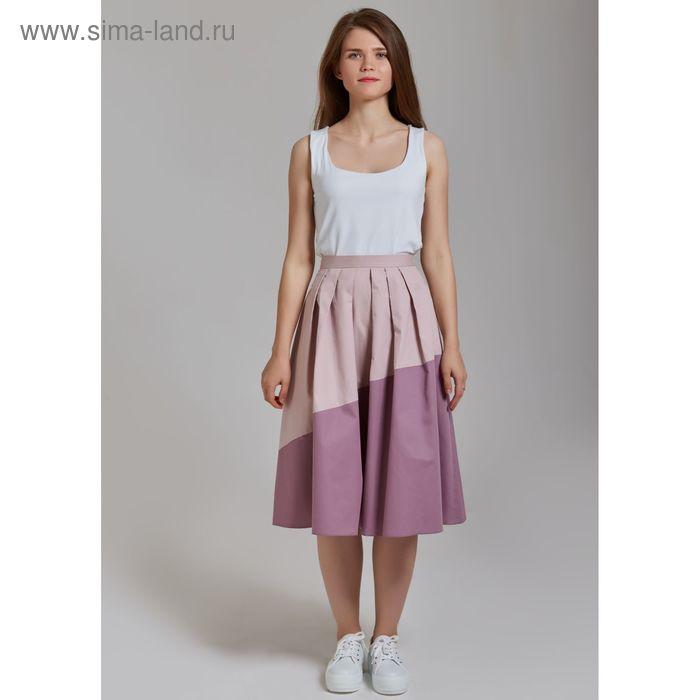 Юбка женская Y6608-0130, цвет розовый, размер42/170