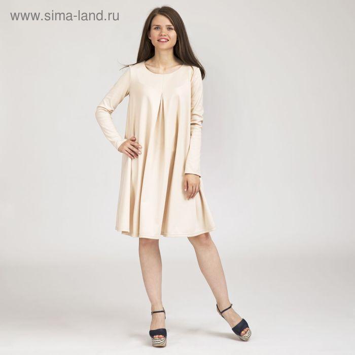Платье женское Y0243-0048, цвет молочный, размер48/170