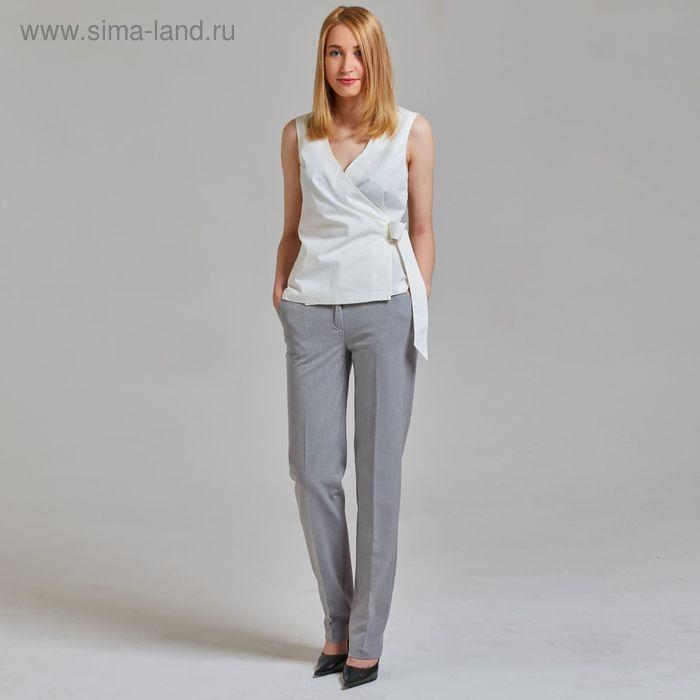 Брюки женские Y4347-0062, цвет светло-серый, размер 42, рост 170
