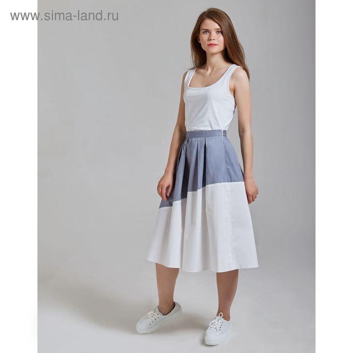 Юбка женская Y6406-0130, цвет серый, размер48/170