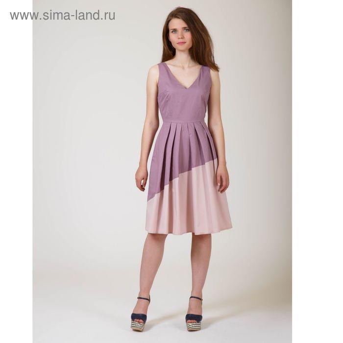 Платье женское Y6613-0140, цвет сливовый, размер44/170