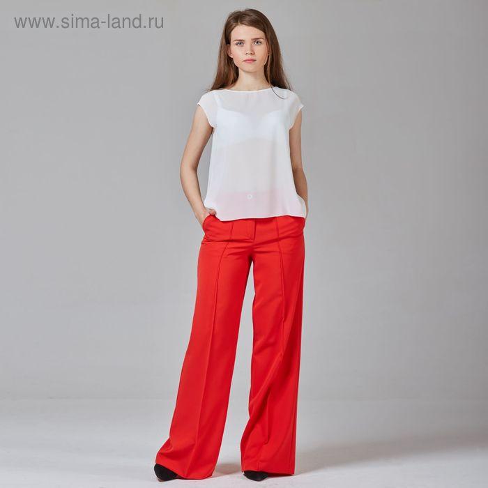 Брюки женские, цвет красный, размер 54, рост 170 см (арт. Y1512-0085 С+)