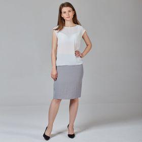 Юбка женская Y6831-0079new, цвет серый, размер42/170