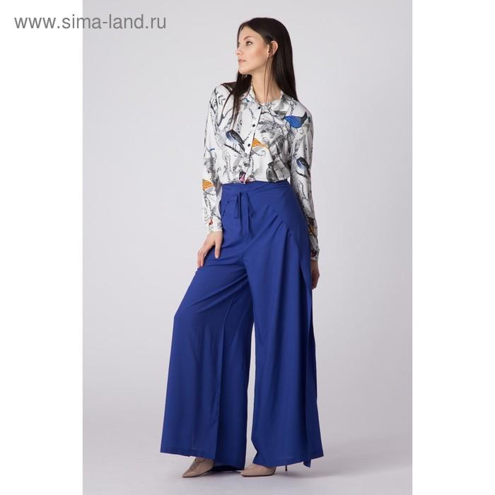 Брюки женские Y1339-0121, цвет синий, размер44/170