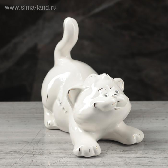 """Копилка """"Афоня"""" глазурь, белая"""