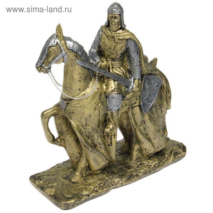 """Сувенир """"Рыцарь на коне"""""""