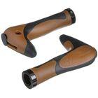 Грипсы-рога HL-G205, 150 мм, цвет чёрный