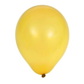 """Шар латексный 5""""/03 Пастель Yellow 100 шт. G"""