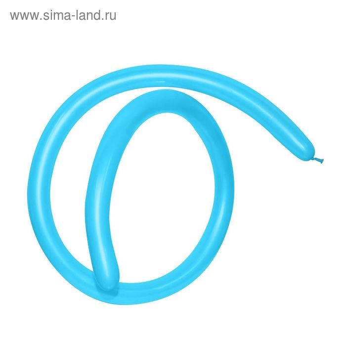 Шар для моделирования 160, пастель, набор 100 шт., цвет голубой