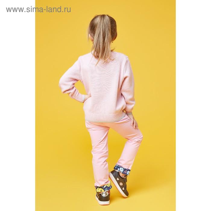 Брюки для девочки, рост 110 см (60), цвет розовый (арт. ZG 10217-P1)