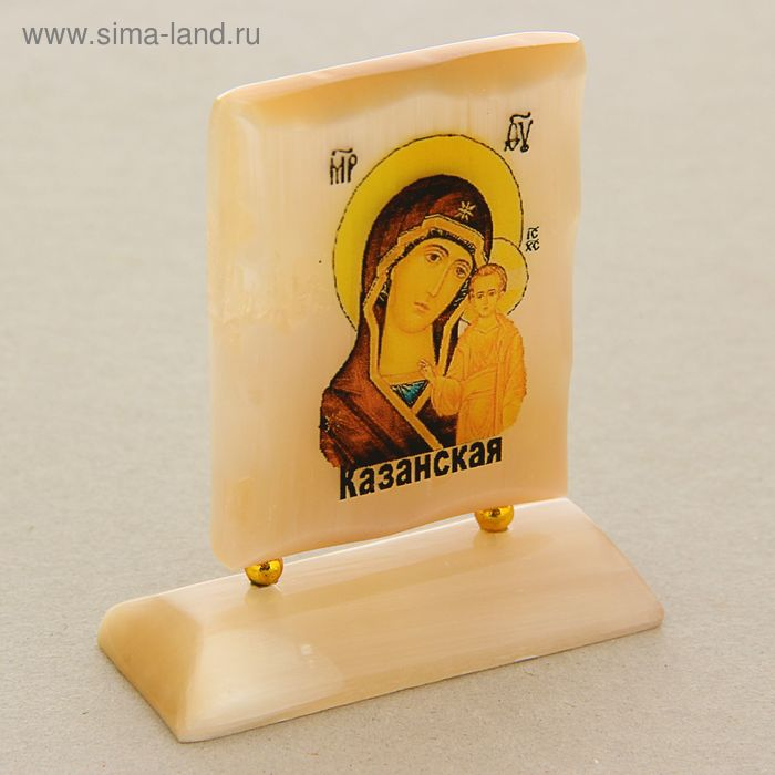 """Икона на подставке прямоугольные """"Казанская"""""""