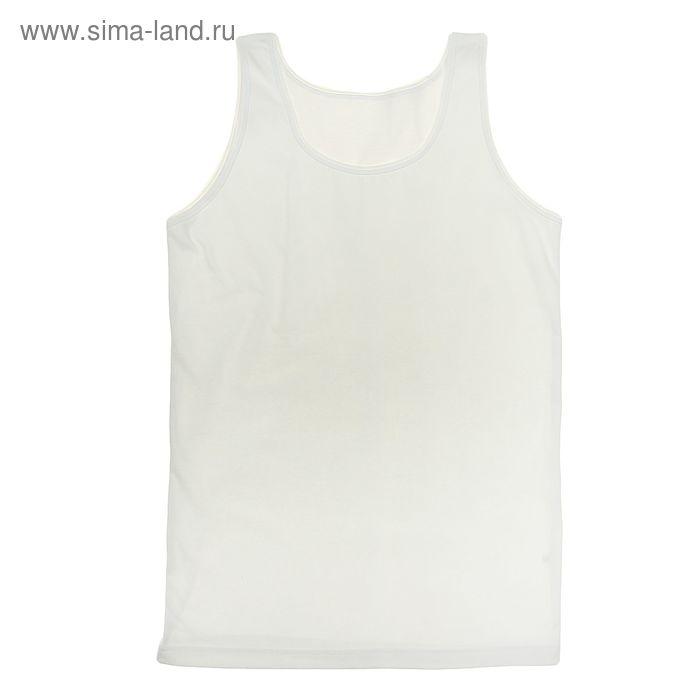 """Майка для девочки """"Белая"""", рост 128 см (64), цвет белый ДНМ665001"""