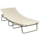 Кровать раскладная 190х80 см ALBA, ортопедическое основание, матрас ППУ 6 см