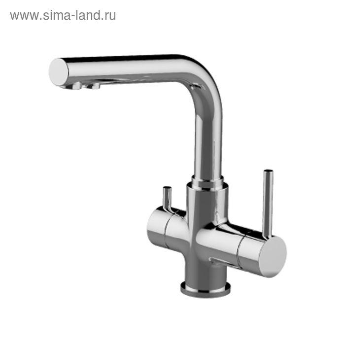 Смеситель для кухни с подключением к фильтру с питьевой водой Lemark Comfort LM3061C