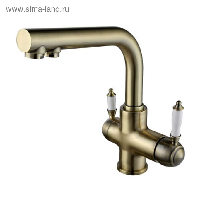 Смеситель для кухни с подключением к фильтру с питьевой водой Lemark Villa LM4861B