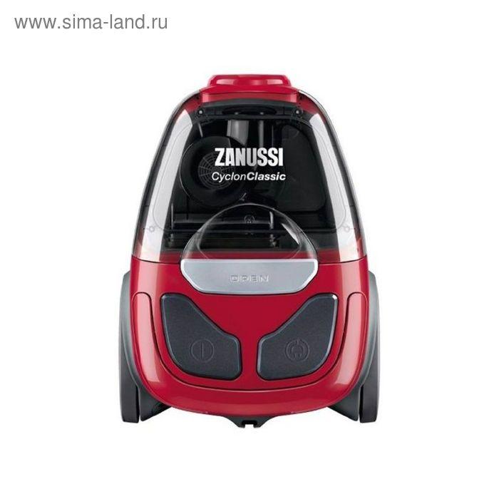 Пылесос Zanussi ZAN1900EL, 800 Вт, 1.2 л, красный