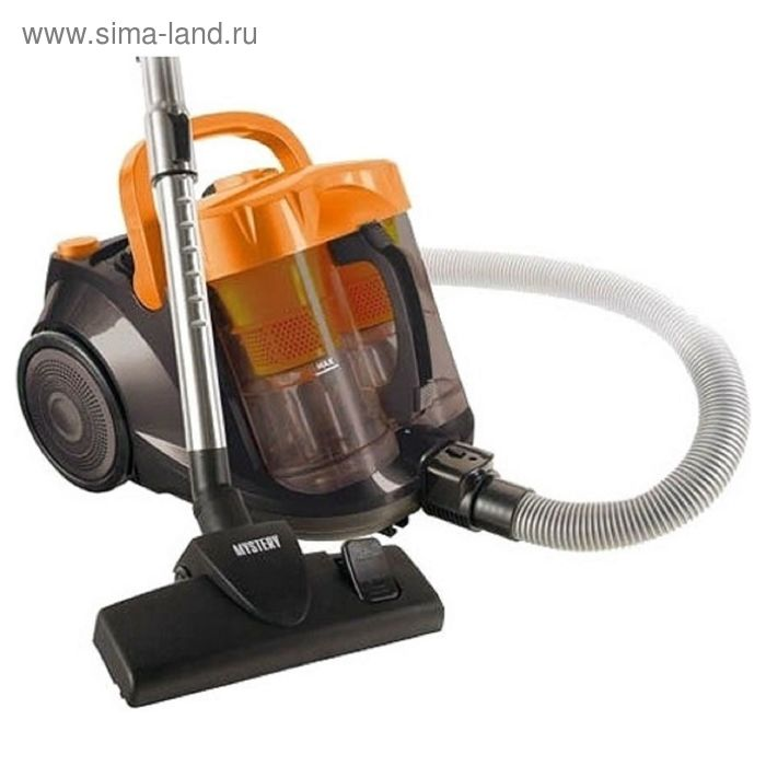 Пылесос Mystery MVC-1109, 2000 Вт, 3 л, оранжевый