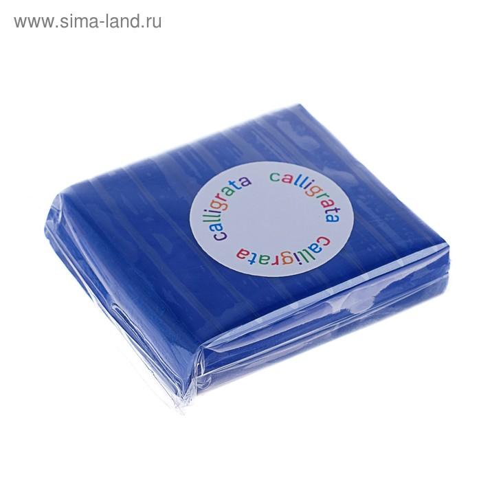 """Полимерная глина 50гр """"PMO"""" Темно-синий SH-12"""