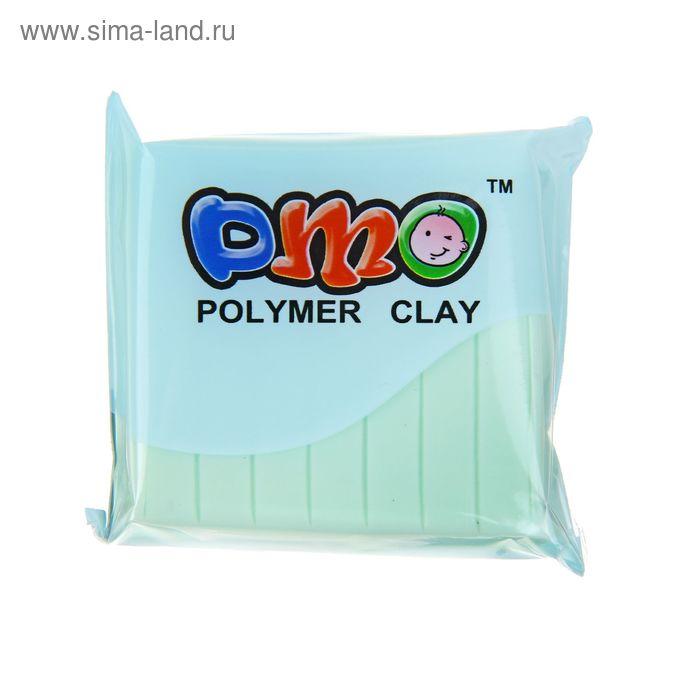 """Полимерная глина 50гр """"PMO"""" Люминесцентный(светится в темноте) Морская волна SH-99"""