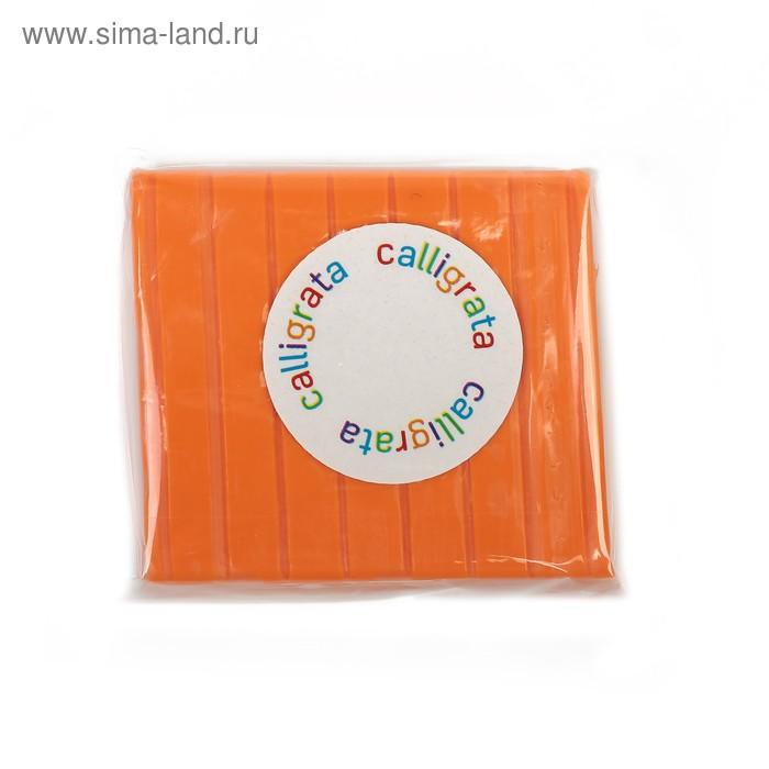 """Полимерная глина 50гр """"Calligrata"""" Оранжевый SH-03"""