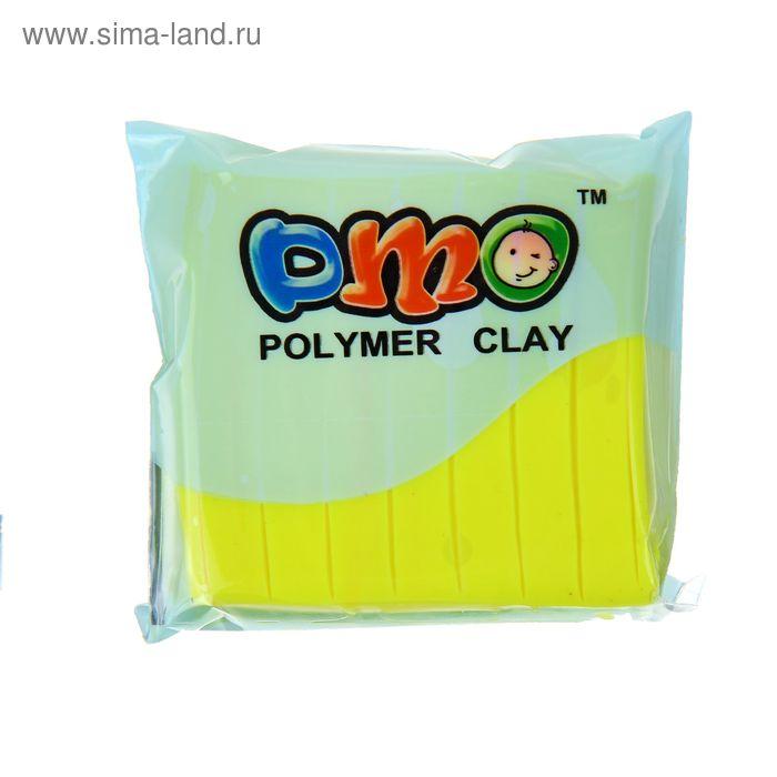 "Полимерная глина 50гр ""PMO"" Флюор Желтый SH-75"