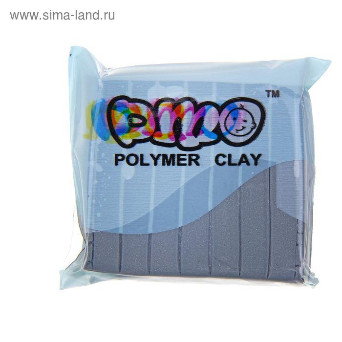 "Полимерная глина 50гр ""PMO"" Мет Серебро SH-87"