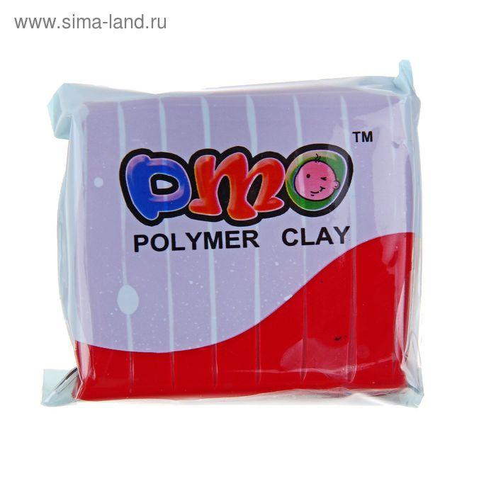 """Полимерная глина 50гр """"PMO"""" Малиново-красный SH-39"""