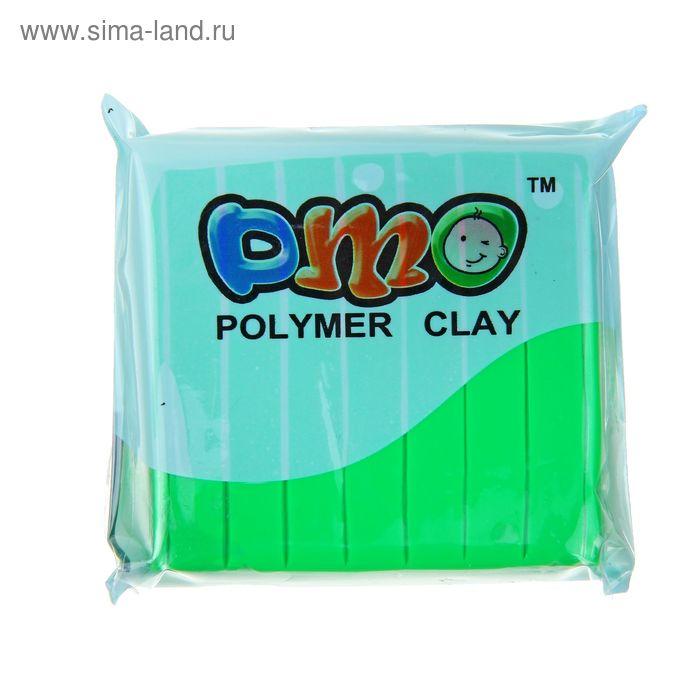 """Полимерная глина 50гр """"PMO"""" Флюор Зеленый SH-63"""