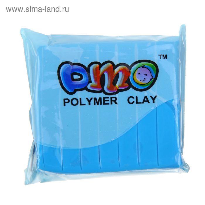 """Полимерная глина 50гр """"PMO"""" Люминесцентный(светится в темноте) Голубой SH-100"""
