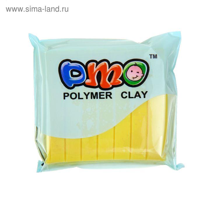 """Полимерная глина 50гр """"PMO"""" Пастельно-желтый SH-09"""