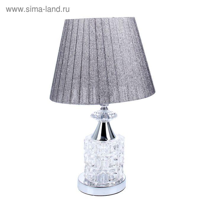 """Лампа настольная """"Блеск"""" под бронзу с переключателем и диодами"""
