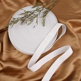 Лента эластичная 25мм 25±1м, цвет белый