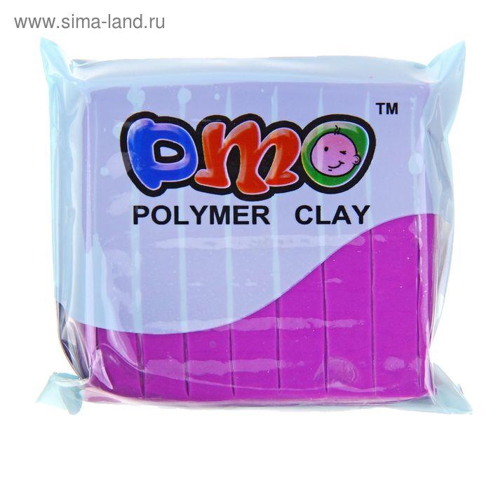 """Полимерная глина 50гр """"PMO"""" Люминесцентный(светится в темноте) Фиолетовый SH-102"""