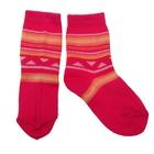 Носки детские ЛС46, цвет малиновый, р-р 12