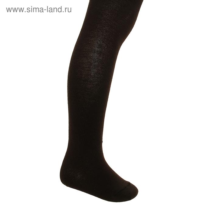 Колготки детские, рост 92-98 см, цвет тёмно-коричневый ФС122