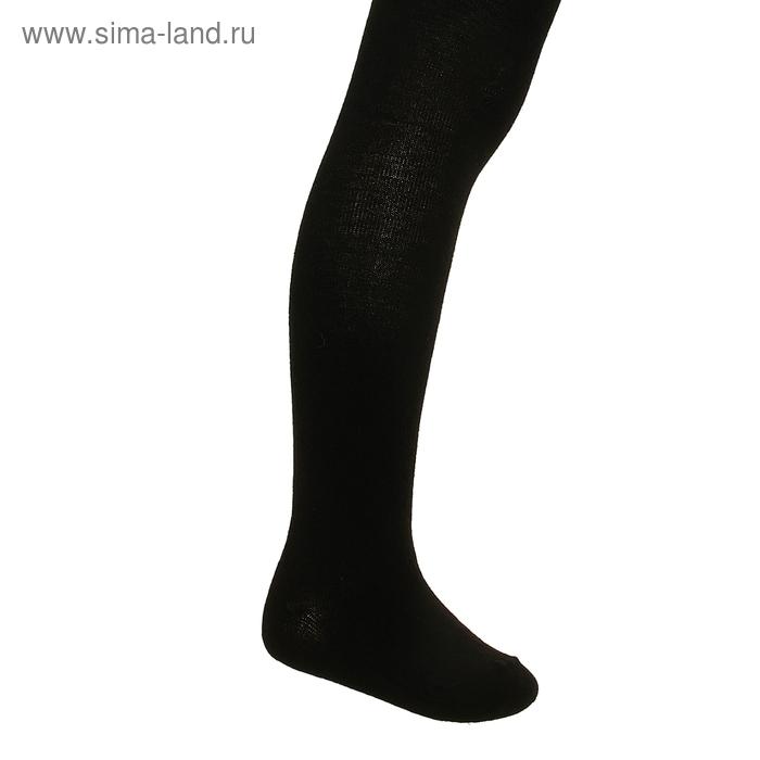 Колготки детские, рост 92-98 см, цвет чёрный ФС122