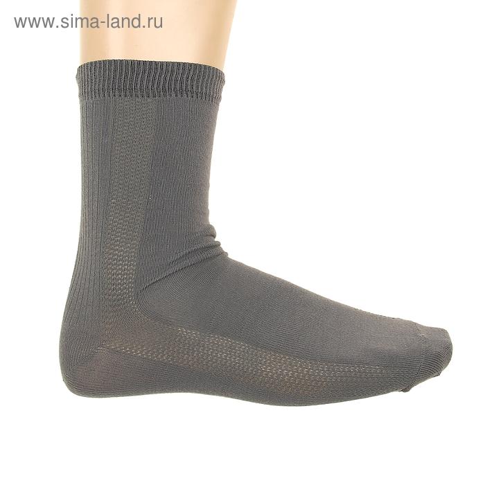 Носки мужские, размер 27-29, цвет серый ФС03