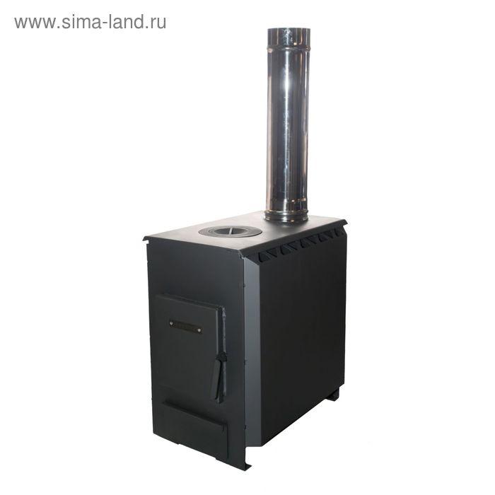 """Отопительная печь """"Теплушка 100"""", графит"""