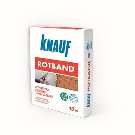 Штукатурка гипсовая универсальная Rotband, 10 кг