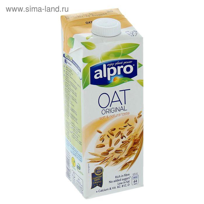 Овсяный напиток ALPRO, обогащенный кальцием и витаминами, 1 л.